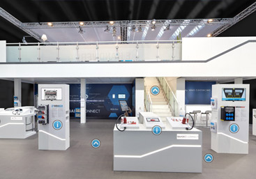 Virtueller Messestand Rundgang in 360 Grad SKF